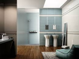 sea glass tile bathroom traditional with framed medicine cabinet