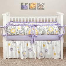 bedding purple and grey crib bedding purple baby purple and