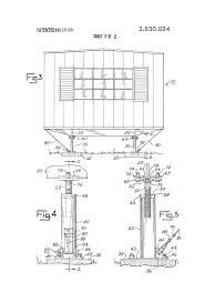 patent us3830024 stabilizing and anchoring device for mobile