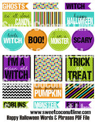 happy halloween printable labels u2013 festival collections