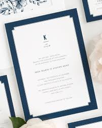 wedding invitations kent blue wedding invitations