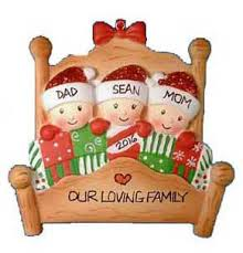 family ornaments free personalization
