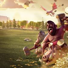 clash of clans wallpapers images 2048x1152 hog rider clash of clans 2048x1152 resolution hd 4k