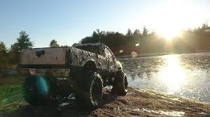 Ford Trucks Mudding Lifted - rc truck skeg mudding ford f350 4x4 axial scx10 rc mudding youtube