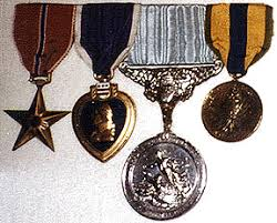 general patton u0027s decorations ribbons medals and awards