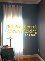 title u003e tall baseboards u0026 crown molding tips u0026 tricks u003c title