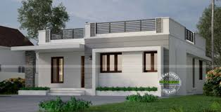 one storey house one storey with roof deck indian house concept house plans