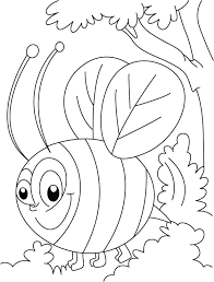honey bee busy squeeze coloring pages download free honey bee
