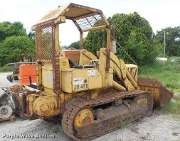 john deere 450 track loader item da7919 sold june 22 co