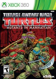 teenage mutant ninja turtles mutants manhattan xbox 360