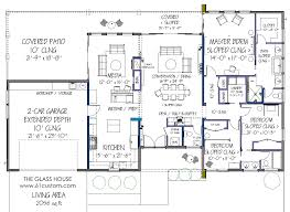 modern residential house plans 1268