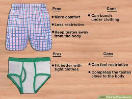 Can Sperm Travel Through Clothes images How to wear boxers 10 steps with pictures wikihow jpg