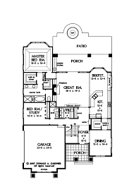 craftsman style house plan 5 beds 4 00 baths 3112 sq ft plan