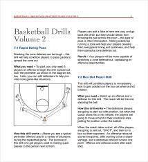 Basketball Resume Template For Player 11 Basketball Practice Plan Templates U2013 Free Sample Example