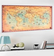World Map Wall Poster by Compare Prices On Canvas Prints Art Decor World Map Online