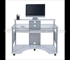 Z Line Designs Computer Desk Z Line Designs Outlet Mobile Workstation Desk 36 H X 48 W X 26 D