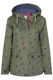 siena waterproof short length coat womens raincoats tar dry