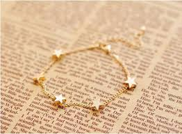 simple chain bracelet images Wholesale new lady girls bangle simple gold filled chic heart jpg