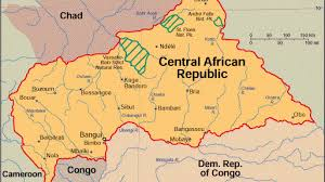 Map Of Central Africa by Central African Republic The New Frontier In Ethno Religious