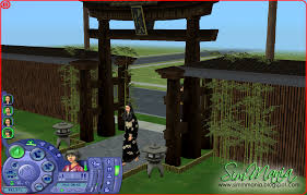 Japanese Inspired House Sim Mania The Sims 2 Asian Inspired House