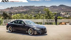 bmw m4 slammed bmw m4 coupe hotted up with adv 1 wheels forcegt com