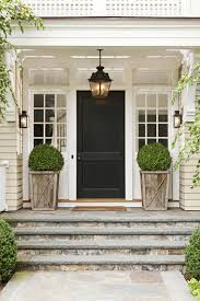 House Porch by 29 Pretty Front Door Flower Pots That Will Add Personality To Your