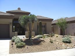 Home And Yard Design App A Dry Creek Bed Comes From Down The Side Of The House And Splits