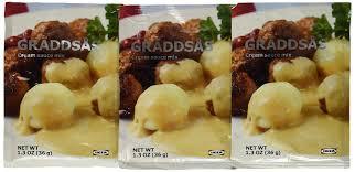 amazon com ikea swedish meatball sauce graddsas 3 pack