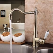 flg free shipping wall mounted antique brass bathroom faucet