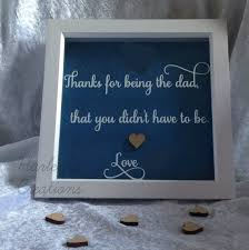 step fathers day gifts s day frame step gift handmade box frame
