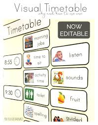 Why And How To Use why and how to use visual timetable effectively you clever monkey