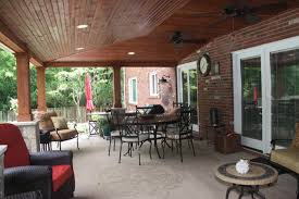 covered porch plans covered patio ideas crafts home