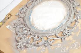 make a vintage inspired halloween mirror jennifer rizzo