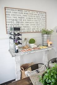 diy simple dining room buffet liz marie blog