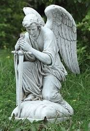 warrior angel garden statue google search funeral plan