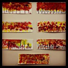 best 25 fall tree painting ideas on pinterest autumn art