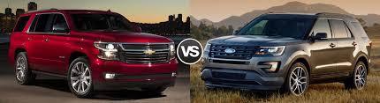 ford explorer vs chevy tahoe compare 2016 chevrolet tahoe vs 2016 ford explorer lancaster sc