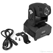 cree led moving lights 10w rgbw 4in1 dmx512 led stage spot