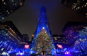 Rockefeller Tree Nyc Rockefeller Tree Lighting Mild Evening In Store For Millions Of