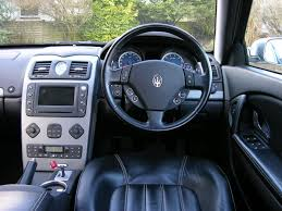 maserati granturismo blue interior file 2006 maserati quattroporte flickr the car spy 16 jpg