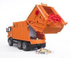 bruder fire truck bruder scania r series garbage truck orange the granville