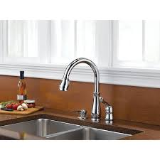 3 hole kitchen faucets get a three hole kitchen sink faucet delta leland collection chrome finish single handle pull down kitchen sink faucet and soap dispenser package