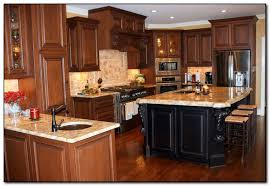 oak cabinets with granite pictures of granite countertops with oak cabinets home and cabinet