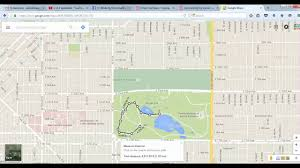 Google Maps Running Route by How To Measure Your Walk In Google Maps Youtube