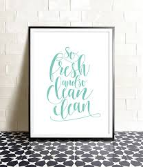 Bathroom Artwork Ideas by Bathroom Art So Fresh And So Clean Clean Printable Art Blue
