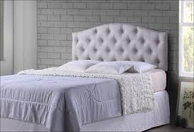 bedroom amazing tufted fabric headboard bed frames and