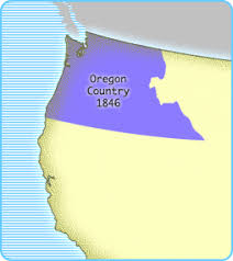 map of oregon country 1846 interactives united states history map the nation expands