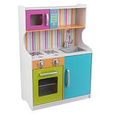 amazon cuisine enfant kidkraft cuisine enfant en bois couleurs vives amazon fr jeux et