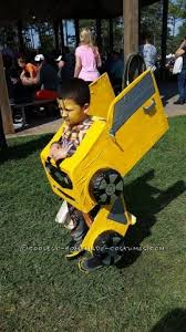 Coolest Transforming Bumblebee Transformer Costume Transformer Coolest Homemade Bumblebee Transformers Costumes