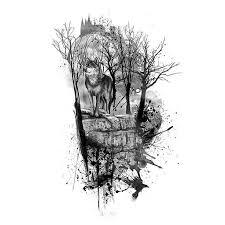 1ffdb2bb3cd9c025f0dda4ff893847e1 lone wolf wolf tattoos